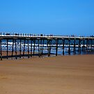 Saltburn Pier by Chris Britton