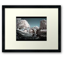 Yorkshire Sculpture Park - Infrared Framed Print