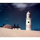Souter Lighthouse - Infrared. by Wayman