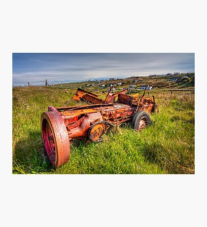 The Old Machine at Tolsta Photographic Print