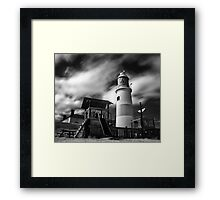 Remnants of Katia - Infrared Framed Print