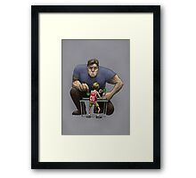 Unlikely Champion Framed Print