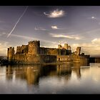 Caerphilly Castle by Wayman