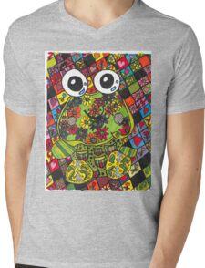 Froggie Mens V-Neck T-Shirt