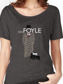 Foyle's War Typography Women's Relaxed Fit T-Shirt