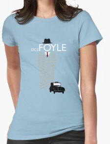Foyle's War Typography Womens Fitted T-Shirt