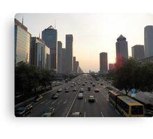 Modern Beijing Canvas Print