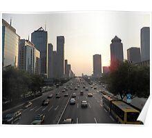 Modern Beijing Poster