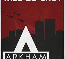 Arkham City Propaganda by Titch-IX