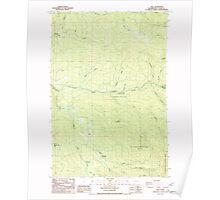 USGS Topo Map Washington State WA Dole 240873 1986 24000 Poster