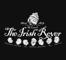 Crew of the Irish Rover Dark shirt Kids Clothes
