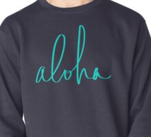 Aloha Tropical Turquoise Pullover