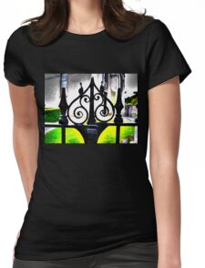 Ancient gate Womens Fitted T-Shirt
