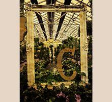 """Grungy Melbourne Australia Alphabet Series Letter """"C"""" Conservatory Unisex T-Shirt"""