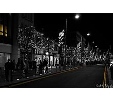 Middlesbrough Christmas Lights Photographic Print