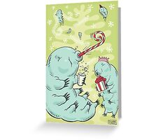Christmas Tardigrade Greeting Card