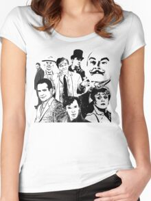 Mystery Page Women's Fitted Scoop T-Shirt