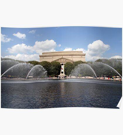 A Fountain In Washington Poster