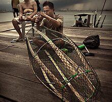 The Fisherman #0401 by Michiel de Lange