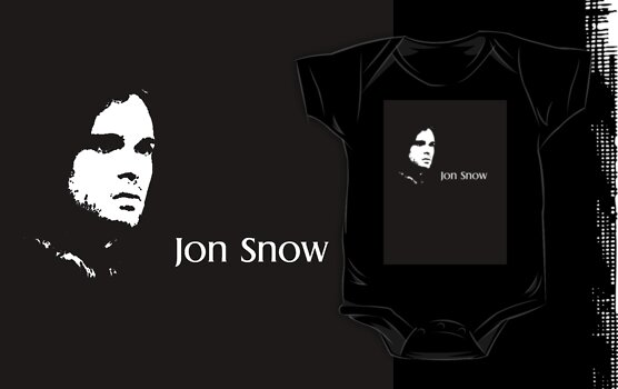 Jon Snow, Game of Thrones by D4RK0