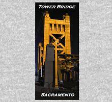 Tower Bridge, Sacramento Unisex T-Shirt