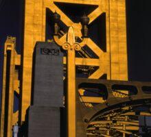 Tower Bridge, Sacramento Sticker