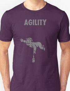 Fallout - S.P.E.C.I.A.L. Agility grey T-Shirt