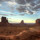 Monument Valley Sunset  by Saija  Lehtonen