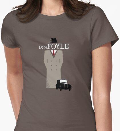 DCS Foyle (Foyle's War) Womens Fitted T-Shirt