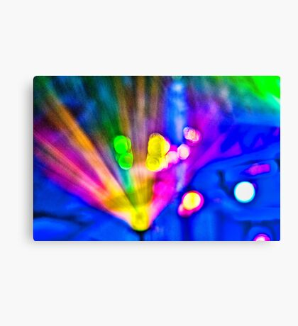 Abstract #10 - Explosion Canvas Print