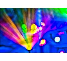 Abstract #10 - Explosion Photographic Print