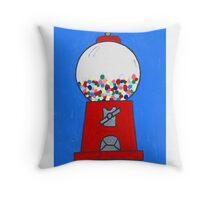 Gumball machine Throw Pillow