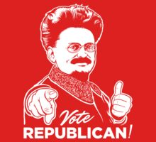Trotsky Vote Republican Kids Clothes