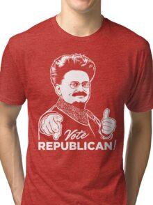 Trotsky Vote Republican Tri-blend T-Shirt