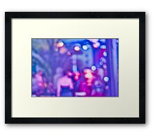 Abstract #13 - Purple People Framed Print