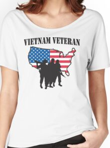 Vietnam Veteran T-Shirt Women's Relaxed Fit T-Shirt