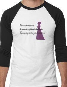 There is a Stubbornnesss about me Men's Baseball ¾ T-Shirt
