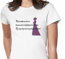 There is a Stubbornnesss about me Womens Fitted T-Shirt