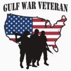 Gulf War Veteran T-Shirt by HolidayT-Shirts