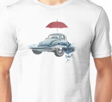 VW Beetle on the water Unisex T-Shirt