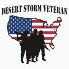 Desert Storm Veteran T-Shirt by HolidayT-Shirts