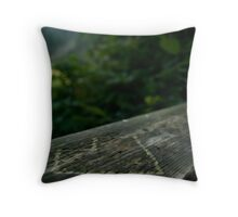 Carve our Love Throw Pillow