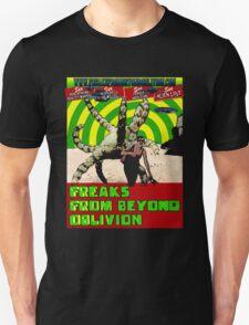 Freaks From Beyond Oblivion Alien Black  T-Shirt