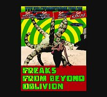 Freaks From Beyond Oblivion Alien Black  Unisex T-Shirt