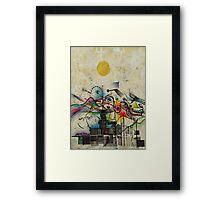 Blow Framed Print