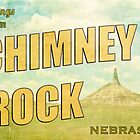 Greetings from Chimney Rock! by cmcdonald