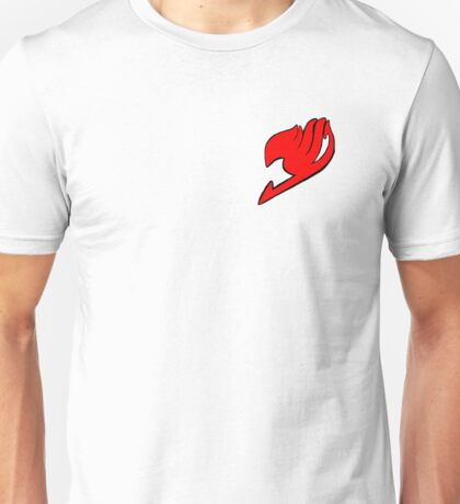 Red Fairy Tail symbol Unisex T-Shirt