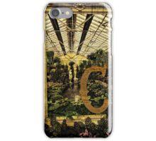 "Grungy Melbourne Australia Alphabet Series Letter ""C"" Conservatory iPhone Case/Skin"
