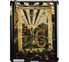 "Grungy Melbourne Australia Alphabet Series Letter ""C"" Conservatory iPad Case/Skin"