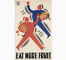 Vintage poster - Eat more fruit Unisex T-Shirt